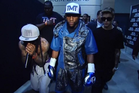 mayweather walk in